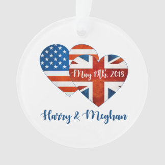 Harry & Meghan Wedding, May 19th 2018 Ornament