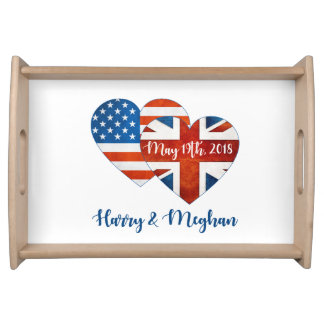 Harry & Meghan Wedding, May 19th 2018 Serving Tray