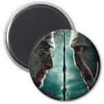 Harry Potter 7 Part 2 - Harry vs. Voldemort 2 Inch Round Magnet