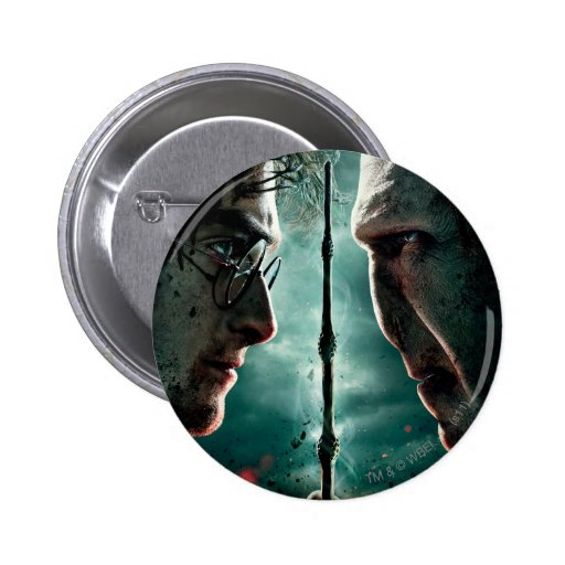 Harry Potter 7 Part 2 - Harry vs. Voldemort Buttons
