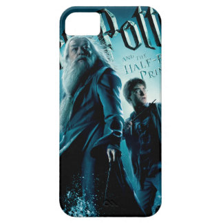 Harry Potter and Dumbledore on rocks 1 iPhone 5 Cover