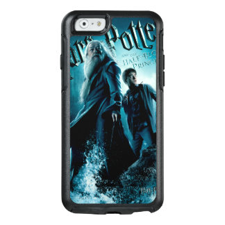 Harry Potter and Dumbledore on rocks 1 OtterBox iPhone 6/6s Case