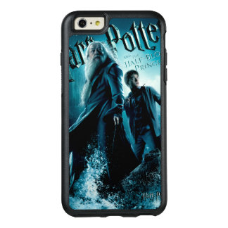 Harry Potter and Dumbledore on rocks 1 OtterBox iPhone 6/6s Plus Case