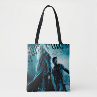 Harry Potter and Dumbledore on rocks 1 Tote Bag