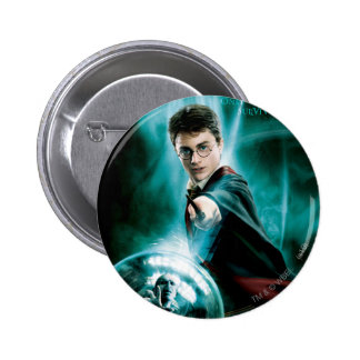 Harry Potter and Voldemort Only One Can Survive 2 Inch Round Button