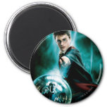Harry Potter and Voldemort Only One Can Survive 2 Inch Round Magnet
