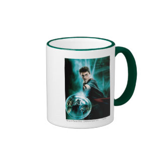 Harry Potter and Voldemort Only One Can Survive Ringer Coffee Mug