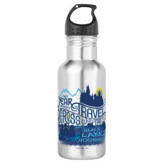 Harry Potter | Black Lake To Hogwarts 532 Ml Water Bottle
