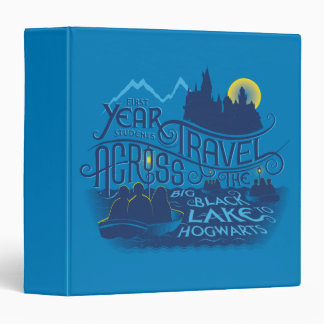 Harry Potter   Black Lake To Hogwarts Binder