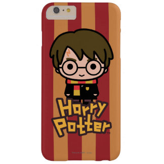 Harry Potter Cartoon Character Art Barely There iPhone 6 Plus Case