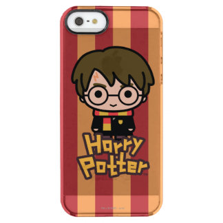 Harry Potter Cartoon Character Art Clear iPhone SE/5/5s Case