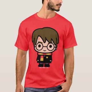 Harry Potter Cartoon Character Art T-Shirt