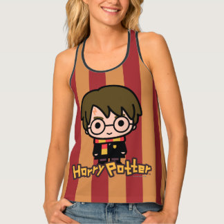 Harry Potter Cartoon Character Art Tank Top
