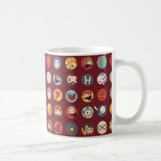 Harry Potter Cartoon Icons Pattern Coffee Mug