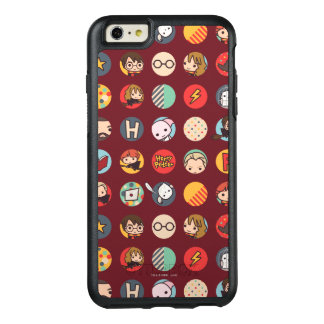 Harry Potter Cartoon Icons Pattern OtterBox iPhone 6/6s Plus Case