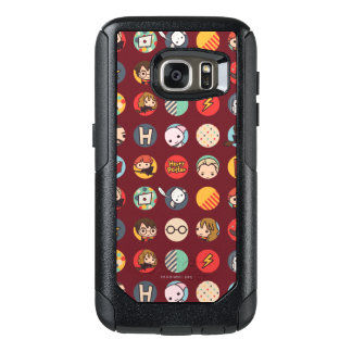 Harry Potter Cartoon Icons Pattern OtterBox Samsung Galaxy S7 Case