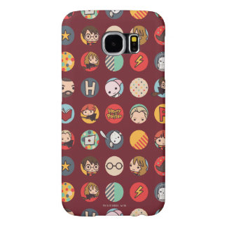 Harry Potter Cartoon Icons Pattern Samsung Galaxy S6 Cases