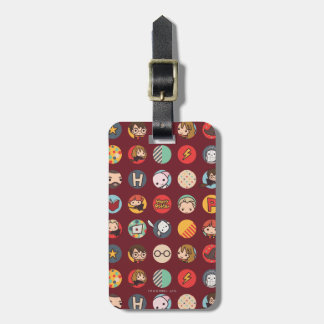 Harry Potter Cartoon Icons Pattern Tags For Bags