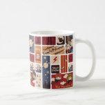 Harry Potter Cartoon Scenes Pattern Classic White Coffee Mug