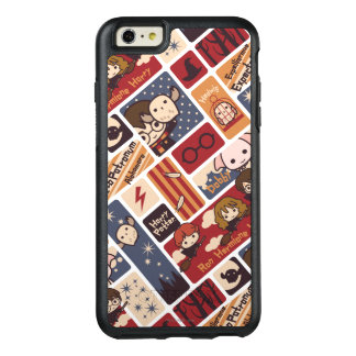Harry Potter Cartoon Scenes Pattern OtterBox iPhone 6/6s Plus Case