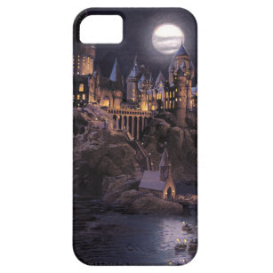 Harry Potter Castle   Great Lake to Hogwarts iPhone 5 Cover