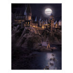 Harry Potter Castle | Great Lake to Hogwarts Poster
