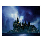 Harry Potter Castle   Hogwarts at Night Poster