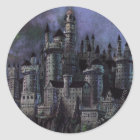 Harry Potter Castle | Magnificent Hogwarts Classic Round Sticker