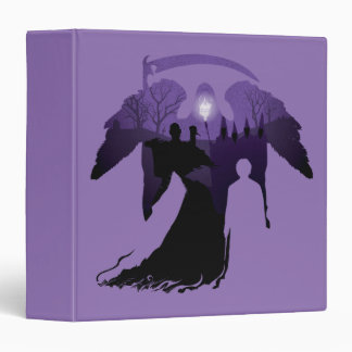 Harry Potter   Death Silhouette 3 Ring Binder