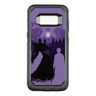 Harry Potter | Death Silhouette OtterBox Commuter Samsung Galaxy S8 Case