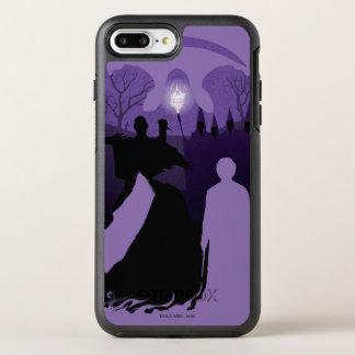 Harry Potter   Death Silhouette OtterBox Symmetry iPhone 8 Plus/7 Plus Case