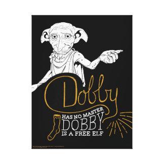 Harry Potter | Dobby Has No Master Canvas Print