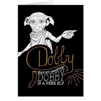 Harry Potter | Dobby Has No Master Card