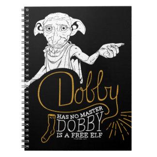 Harry Potter | Dobby Has No Master Notebooks