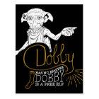 Harry Potter   Dobby Has No Master Postcard
