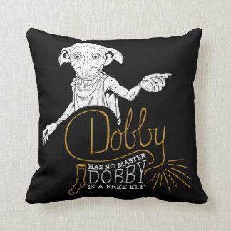 Harry Potter | Dobby Has No Master Throw Pillow