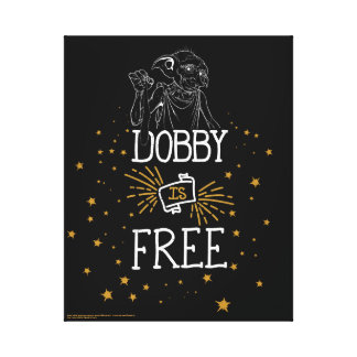 Harry Potter | Dobby Is Free Canvas Print