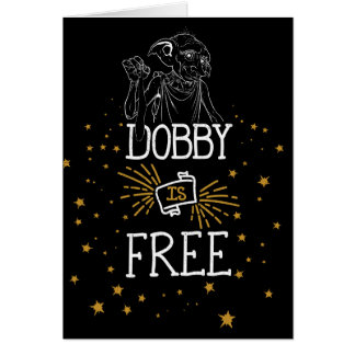 Harry Potter | Dobby Is Free Card