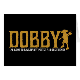 Harry Potter | Dobby Save Harry Potter Card