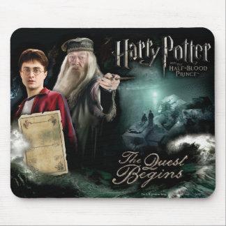 Harry Potter et Dumbledore Tapis De Souris