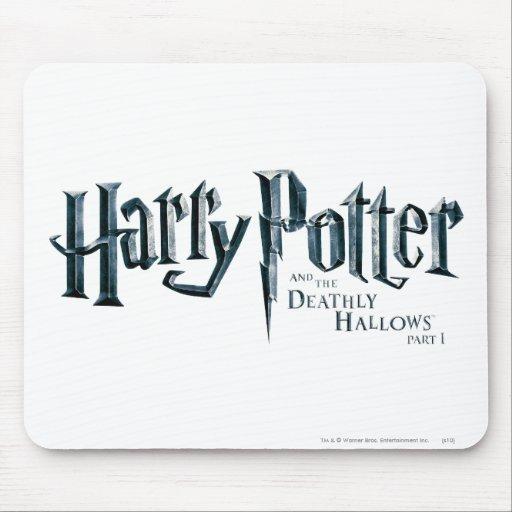 Harry Potter et le de mort sanctifie le logo 1 2 Tapis De Souris