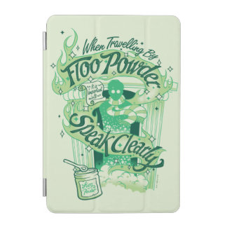 Harry Potter | Floo Powder Typography Graphic iPad Mini Cover