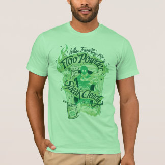 Harry Potter | Floo Powder Typography Graphic T-Shirt