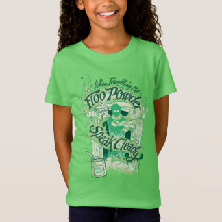 Harry Potter   Floo Powder Typography Graphic T-Shirt