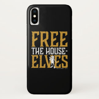 Harry Potter | Free The House Elves iPhone X Case