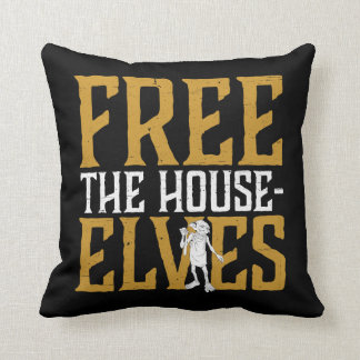 Harry Potter | Free The House Elves Throw Pillow