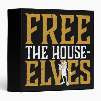 Harry Potter | Free The House Elves Vinyl Binder