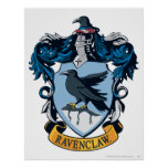 Harry Potter  | Gothic Ravenclaw Crest Poster