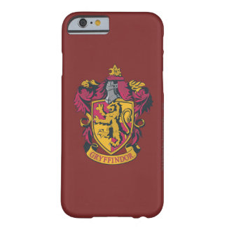 Harry Potter | Gryffindor Crest Gold and Red Barely There iPhone 6 Case