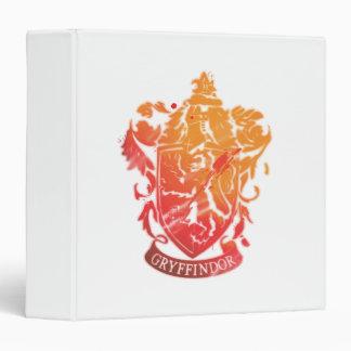 Harry Potter | Gryffindor Crest - Splattered 3 Ring Binders